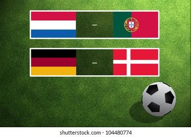 Match Day EURO, Group B