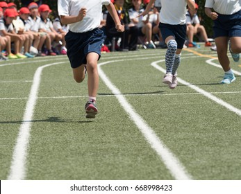 Match race for athletic meet