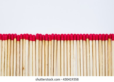 match sticks isolated
