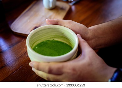 Matcha, Green tea, A favorite drink of japanese