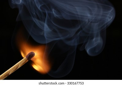 matches flame