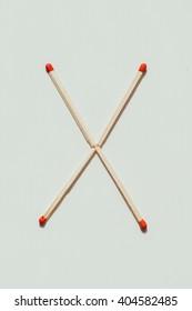 matchstick letter