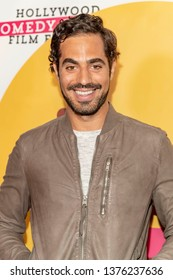 Mateo Lynch attends 2019 Hollywood Comedy Shorts Film Festival at TCL Chinese Theatres 6, Hollywood, CA on April 20, 2019