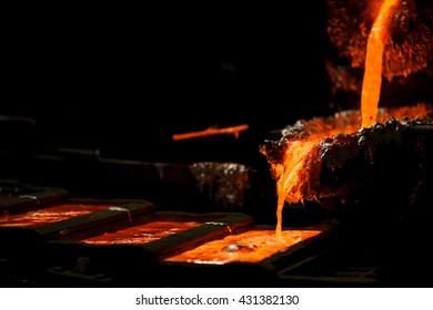 Mater alloys production from molten aluminium