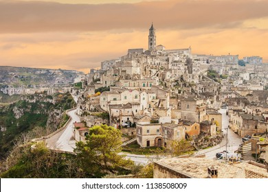Matera skyline, Matera best view, panorama of Matera, Matera capital of culture, best sky
