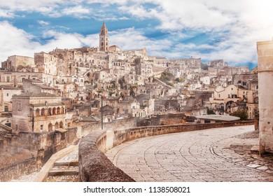 Matera skyline, Matera best view, panorama of Matera, Matera capital of culture, best sky