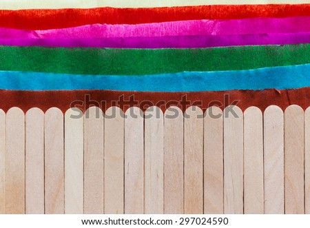 Material Art Work Kids Activities Contrast Stock Photo Edit Now