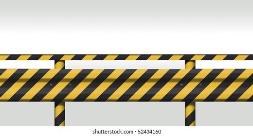 Material image of guardrail