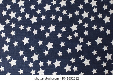 Material with star. Background.