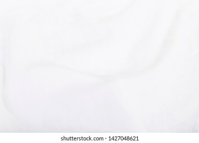 The material texture of the white chothes