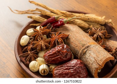 Materials of the Chinese medicine
