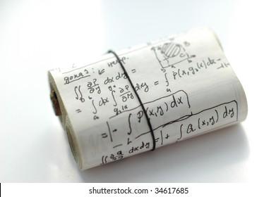 Math formulas and equations