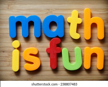 Math is fun concept