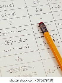 Math and physics homework