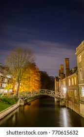 The Mathematical Bridge is a famous bridge in Cambridge surrounded by many tales about its origin