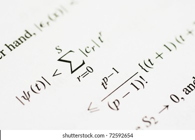 Mathematical equation concerning number theory