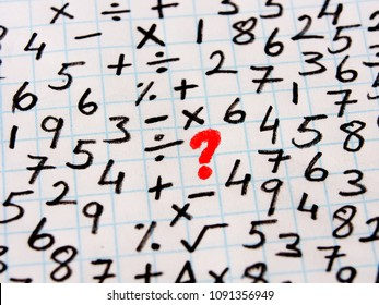 Solving Math Exam Images, Stock Photos & Vectors | Shutterstock