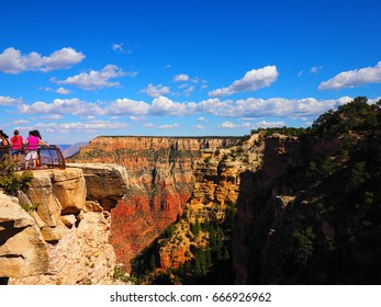 Mather Point in Grand Canyon National Park.