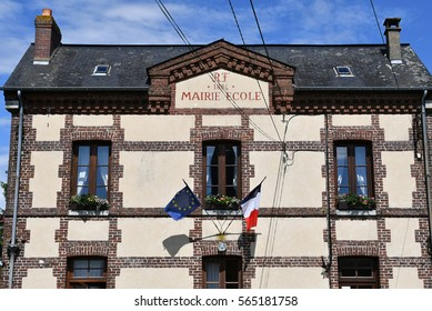 Mathonville, France - june 23 2016 : the city hall