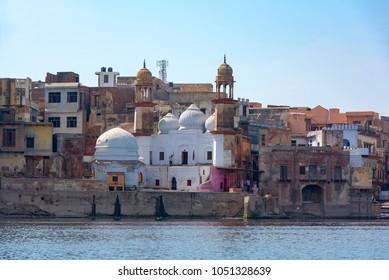 Mathura a small town in India, Mathura and Yamuna river, India