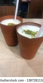 Matka Indian sweet lassi drink