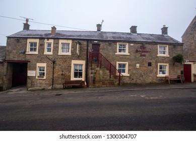 MATLOCK, UNITED KINGDOM - JANUARY 31, 2019: The Sycamore Inn Pub in Maltock, Derbyshire