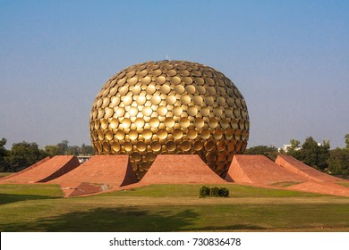 The Matrimandir (Sanskrit for Temple of The Mother) is an edifice of spiritual significance for practitioners of Integral yoga, situated at the centre of Auroville.