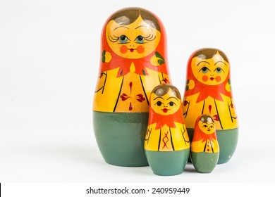 A matryoshka doll also known as Russian nesting doll.