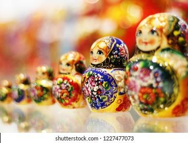 matryoshka doll souvenir