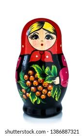 Matryoshkas russian wooden nesting dolls