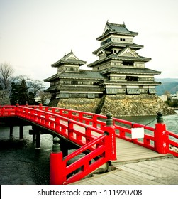 Matsumoto Castle, - one of te oldest in Japan