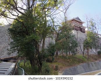 Matsuyama castle, Ehime, Japan