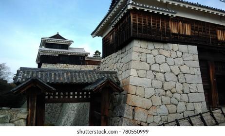 Matsuyama Castle, historical site in Matsuyama city, Ehime, west Japan