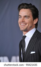 """Matt Bomer at the Los Angeles premiere of his new movie """"In Time"""" at the Regency Village Theatre, Westwood. October 20, 2011  Los Angeles, CA Picture: Paul Smith / Featureflash"""