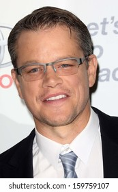 Matt Damon at the 23rd Annual Environmental Media Awards, Warner Brothers Studios, Burbank, CA 10-19-13