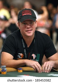Matt Damon in attendance for 2010 Ante Up for Africa Celebrity Charity Poker Tournament, Rio All-Suite Hotel & Casino, Las Vegas, NV July 3, 2010