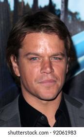 "Matt Damon at HBO's ""His Way"" Los Angeles Premiere, Paramount Studios,  Hollywood, CA 03-22-11"