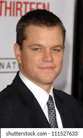 "Matt Damon at the North American Premiere of ""Ocean's Thirteen"". Grauman's Chinese Theatre, Hollywood, CA. 06-05-07"