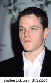 Matt Damon at screening of CONFESSIONS OF A DANGEROUS MIND, NY 12/18/2002