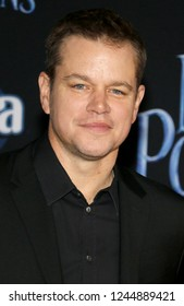 Matt Damon at the World premiere of Disney's 'Mary Poppins Returns' held at the Dolby Theatre in Hollywood, USA on November 29, 2018.
