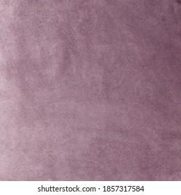 Matt Lilac Velvet Fabric Texture