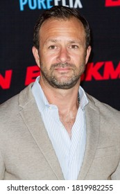 """Matt Shapira attends the premiere of """"Beckman"""" at the Universal Hilton Hotel at Universal Studios Hollywood in Los Angeles, CA on Sept. 21, 2020"""