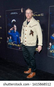 """Matt Walsh attends HBO's """"Avenue 5"""" Los Angeles Premiere at Avalon Hollywood, Los Angeles, CA on January 14th, 2020"""