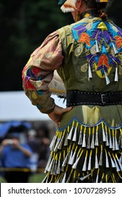 Mattaponi Native American fancy dance dress