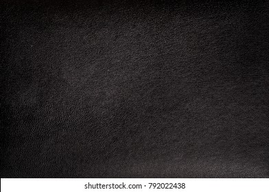 Matte black leather texture for background