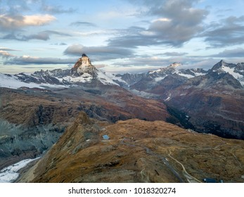 Matterhorn looking from  Gornergrat, Zermatt of Switzerland.