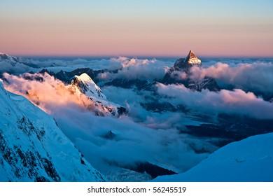 Matterhorn in the morning