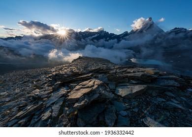 The Matterhorn on the Italian side
