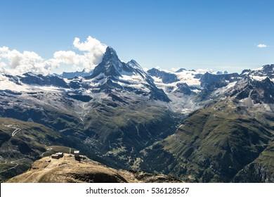 Matterhorn Clouds Images Stock Photos Vectors Shutterstock