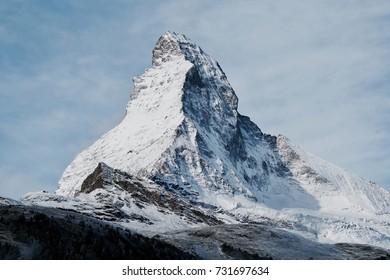 Matterhorn Zermatt Switzerland, most beautiful mountain, Swiss alps